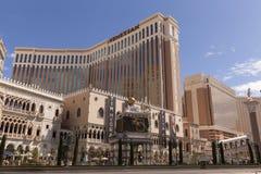 威尼斯式旅馆在拉斯维加斯,在2013年3月30日的NV 免版税库存照片