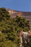 Wynn旅馆和水特点在拉斯维加斯,在2013年3月30日的NV 库存照片