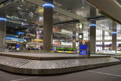 McCarran国际机场在拉斯维加斯,在Apri 01日的NV 2013年 图库摄影