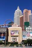 拉斯维加斯-纽约纽约旅馆和娱乐场 免版税库存图片