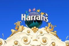 拉斯维加斯- Harrah的旅馆和娱乐场 免版税图库摄影