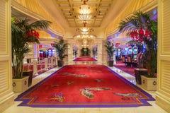 拉斯维加斯Wynn旅馆 免版税库存图片