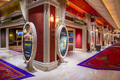 拉斯维加斯Wynn旅馆 免版税图库摄影