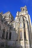 拉昂大教堂,法国 免版税库存照片