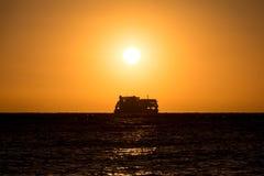 拉普拉塔渡轮 库存照片