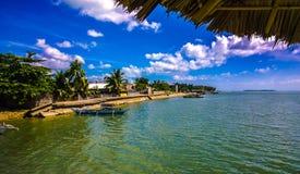 巴拉望岛菲律宾-天堂地方 免版税库存图片