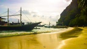 巴拉望岛菲律宾-天堂地方 免版税图库摄影