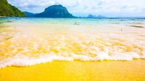 巴拉望岛菲律宾-天堂地方 库存照片