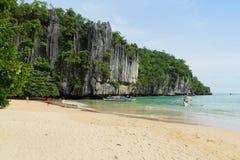 巴拉望岛,菲律宾 免版税库存图片
