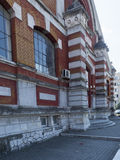 拉杜Negru购物大厅, Drobeta-Turnu Severin,罗马尼亚 库存照片