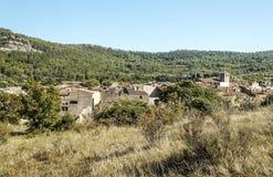 拉格拉斯村庄  图库摄影