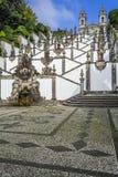 拉格,葡萄牙 bom执行耶稣monte圣所 免版税库存图片