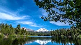 拉森火山国家公园在加利福尼亚北部,美国 库存照片
