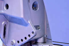 拉模铸造机械零件 免版税库存图片