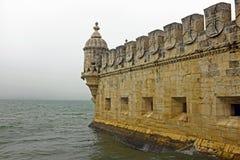 贝拉母塔在里斯本葡萄牙 图库摄影