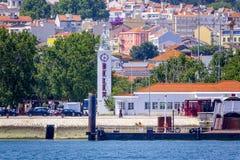贝拉母港在里斯本-贝拉母港口-里斯本-葡萄牙- 2017年6月17日 图库摄影