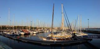 贝拉母船坞 库存照片