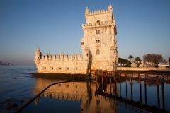 贝拉母de里斯本torre 免版税图库摄影