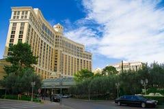 贝拉焦旅馆在拉斯维加斯 免版税库存照片