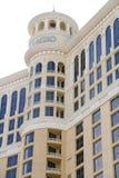 贝拉焦旅馆在拉斯维加斯 库存图片