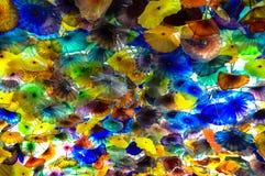 贝拉焦旅馆,拉斯维加斯,内华达,美国的美好的室内设计 图库摄影