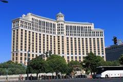 贝拉焦赌场酒店拉斯维加斯 图库摄影