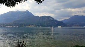 贝拉焦,科莫湖,伦巴第,意大利 图库摄影