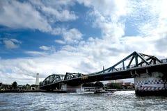 拉玛一世国王纪念碑Rama I Memorial Bridge国王 免版税库存照片