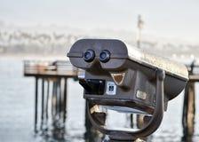 巴巴拉码头圣诞老人 库存照片