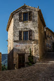 拉科斯特在普罗旺斯,老面包店 库存图片
