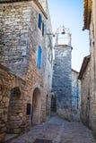 拉科斯特普罗旺斯法国 免版税库存照片