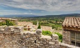 拉科斯特- Luberon -普罗旺斯法国 免版税库存照片