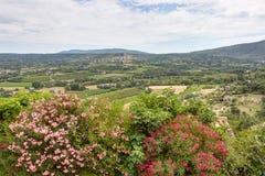 拉科斯特- Luberon -普罗旺斯法国 库存照片
