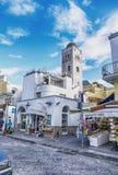 拉科阿梅诺,坐骨海岛在意大利 免版税图库摄影