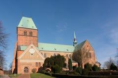 拉策堡教会在德国 免版税库存照片