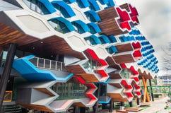 拉筹伯大学在墨尔本澳大利亚 免版税库存图片