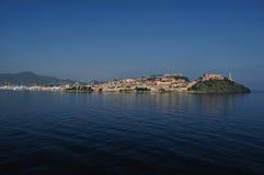 费拉约港,厄尔巴岛,意大利 免版税库存图片