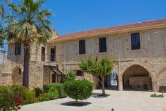 拉纳卡中世纪堡垒 免版税库存图片