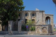 """拉纳卡,塞浦路斯†""""2015年6月26日:克比尔清真寺,拉纳卡,塞浦路斯 库存照片"""