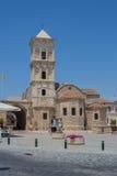 """拉纳卡,塞浦路斯†""""2015年6月26日:圣徒拉撒路,家神教会  图库摄影"""