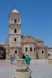 """拉纳卡,塞浦路斯†""""2015年6月26日:圣徒拉撒路,家神教会  免版税图库摄影"""