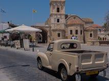 """拉纳卡,塞浦路斯†""""2015年6月26日:圣徒拉撒路,拉纳卡,塞浦路斯教会  免版税图库摄影"""