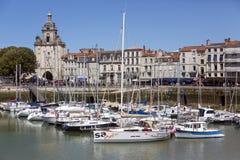 拉罗谢尔- Poitou Charentes -法国 库存照片