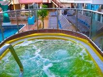 拉罗马纳,多米尼加共和国- 2013年2月05日:肋前缘Luminosa游轮,拥有和管理Crociere,被修造 库存图片