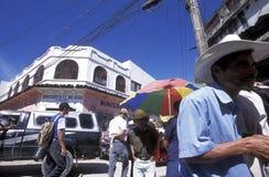 拉美洪都拉斯圣佩德罗苏拉 免版税图库摄影