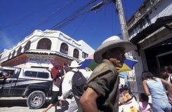 拉美洪都拉斯圣佩德罗苏拉 库存图片
