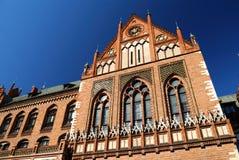 拉脱维亚学院的艺术 图库摄影