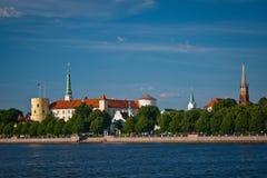 拉脱维亚宫殿总统里加 库存照片