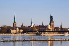 拉脱维亚老里加 库存图片