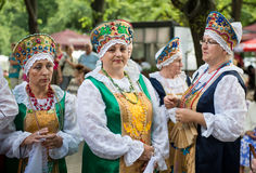拉脱维亚全国歌曲和舞蹈节日 免版税库存照片